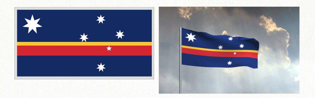 New Australian Flag - Design 1